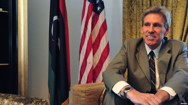 Đại sứ Mỹ tại Libya Christopher Stevens