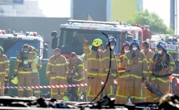 Vụ máy bay rơi trúng trung tâm thương mại: 5 người thiệt mạng ảnh 11
