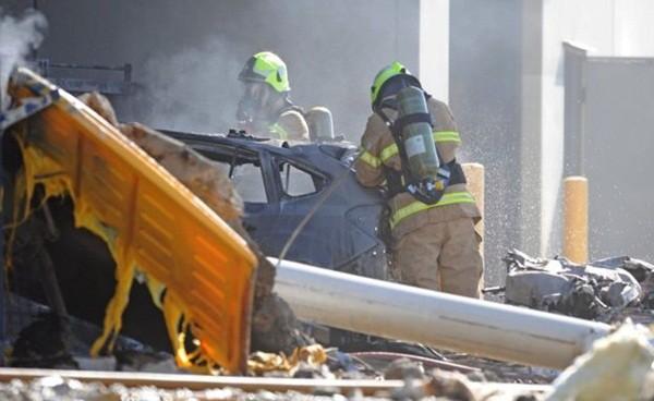 Vụ máy bay rơi trúng trung tâm thương mại: 5 người thiệt mạng ảnh 8