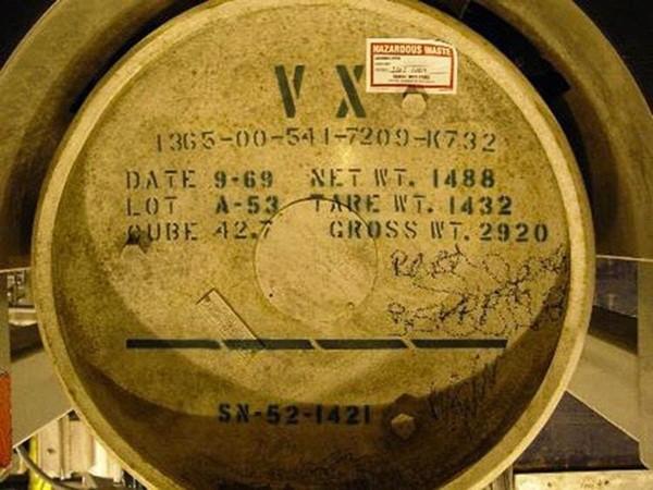 VX được tổng hợp lần đầu tiên tại Anh vào thập niên 1950