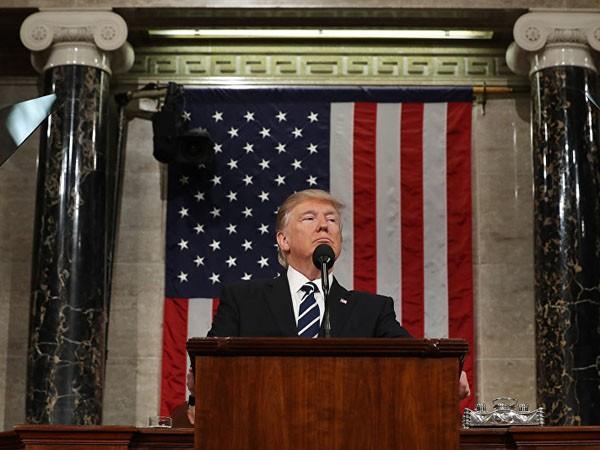 """Bài phát biểu của ông Trump được ca ngợi là """"tốt nhất mọi thời đại"""" ảnh 1"""