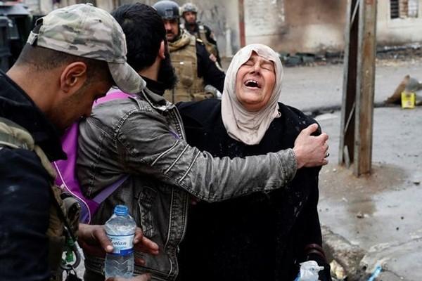 Khoảng 40.000 người, trong đó có 15.000 trẻ em chạy trốn khỏi Mosul trong tuần qua