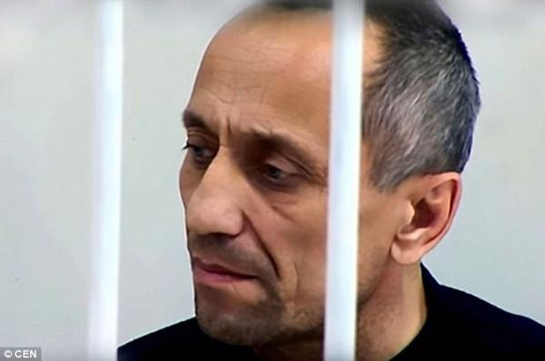 Popkov đang thụ án tù chung thân và có thể đối mặt với mức án mới sau khi bị cáo buộc thêm tội giết 60 người phụ nữ khác