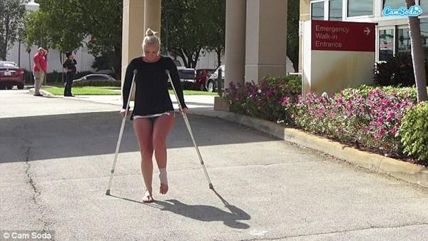 Molly đã ổn định và hồi phục sau sự cố của mình