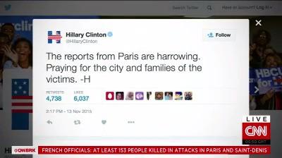 Phản ứng của các nhà lãnh đạo thế giới trước các vụ tấn công khủng bố tại Paris ảnh 5