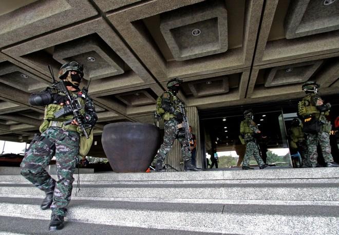 Lực lượng an ninh Philippines bảo vệ Hội nghị APEC 2015