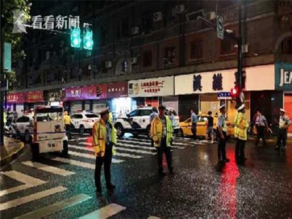 Cảnh sát phong tỏa hiện trường nơi xảy ra vụ việc