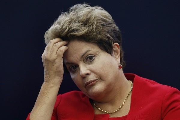 Tổng thống đang bị đình chỉ chức vụ của Brazil Dilma Rousseff