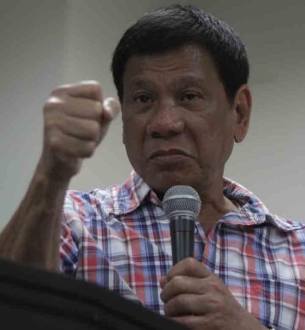 Tổng thống vừa đắc cử của Philippines Rodrigo Duterte