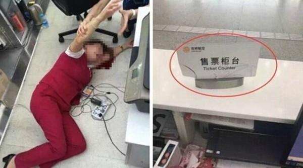 Nữ nhân viên hàng không ngất xỉu sau khi bị hành khách hành hung