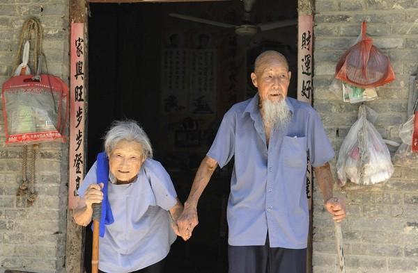 Cụ Tống Khánh Lâm và người vợ Tống Lý Thị