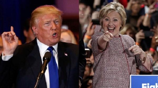 """Khẩu chiến giữa ông Donald Trump và bà Hillary Clinton gây """"bão dư luận"""" ảnh 1"""