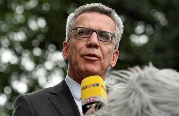 Bộ trưởng Nội vụ Đức Thomas de Maiziere