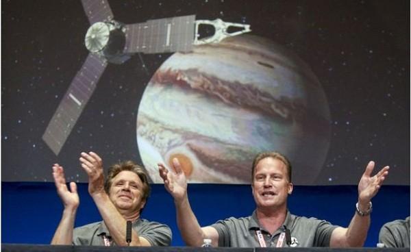 Tàu Juno tới quỹ đạo Sao Mộc ngày 5-7 vừa qua