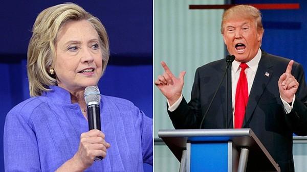 Bà Hillary Clinton và ông Donald Trump sẽ tranh luận trực tiếp vào tuần tới