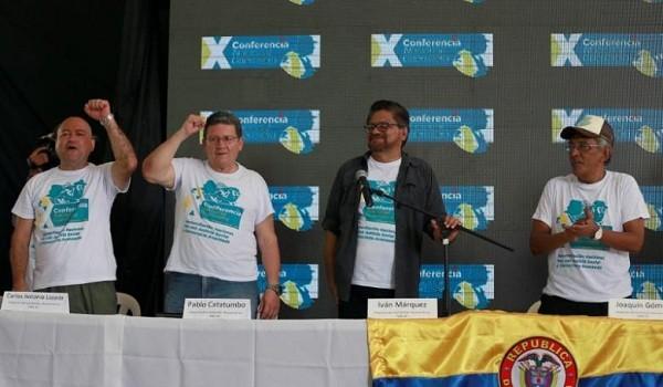 Các lãnh đạo của FARC vui mừng tuyên bố về thỏa thuận hòa bình