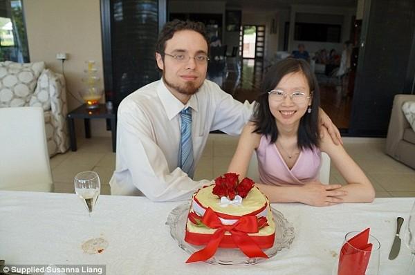 Susanna Liang và Andrea trước khi chuyển giới