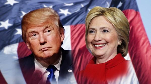 Nhiều dự báo về tỷ lệ ủng hộ vẫn nghiêng về phía bà Clinton
