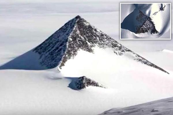 """Cấu trúc """"kim tự tháp"""" ở Nam Cực"""