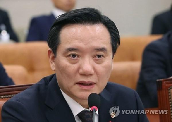 Bộ trưởng Tư pháp Hàn Quốc Kim Hyun-woong