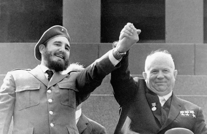 Những bức ảnh lịch sử về cựu chủ tịch Cuba Fidel Castro ảnh 2