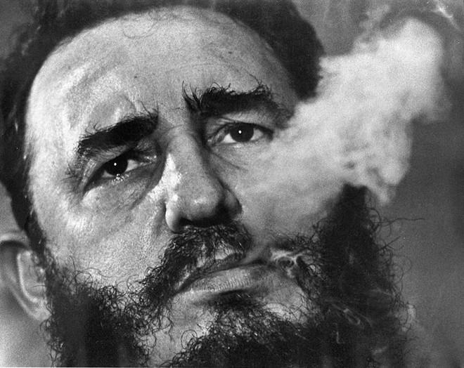 Những bức ảnh lịch sử về cựu chủ tịch Cuba Fidel Castro ảnh 3