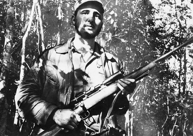 Những bức ảnh lịch sử về cựu chủ tịch Cuba Fidel Castro ảnh 6