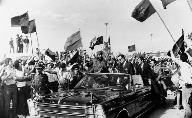 Những bức ảnh lịch sử về cựu chủ tịch Cuba Fidel Castro ảnh 9