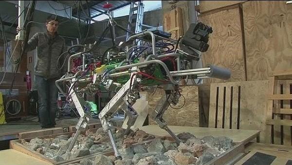 Mô hình robot HyQ của các nhà khoa học Ý