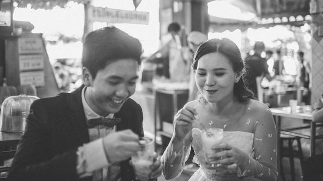 Bộ ảnh cưới đẹp lạ của cặp đôi Thái Lan