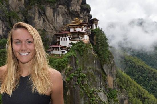 De Pecol lưu giữ hình ảnh tại Bhutan