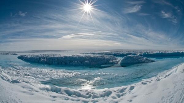 Đóng băng Bắc Cực để chống biến đổi khí hậu