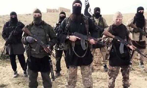 Một số phiến quân thuộc tổ chức Nhà nước Hồi giáo tự xưng (IS)
