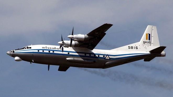 Máy bay Y-8 của quân đội Myanmar