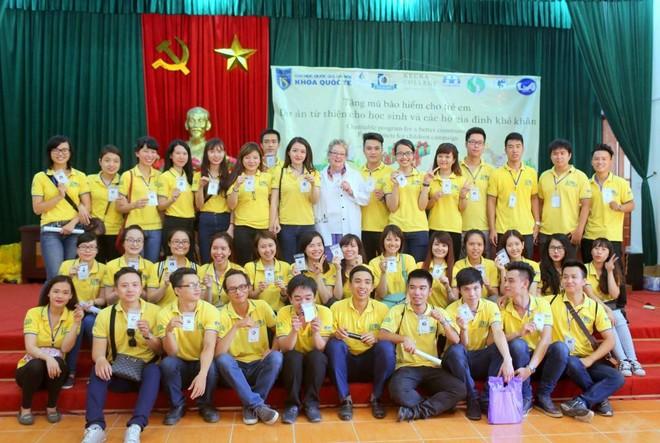 Dự án thể hiện tinh thần sẻ chia, giúp đỡ cộng đồng của sinh viên Khoa Quốc tế, ĐHQG Hà Nội