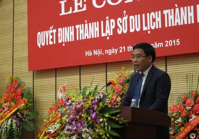 Giám đốc Sở Du lịch Hà Nội Đỗ Đình Hồng bày tỏ quyết tâm đưa du lịch Thủ đô bứt phá