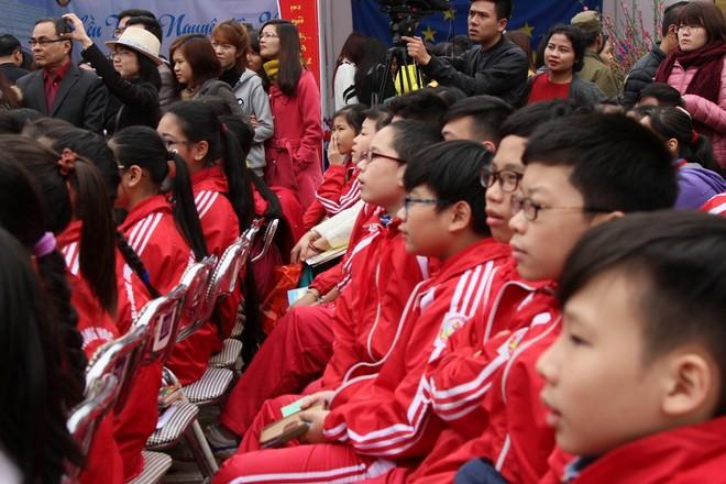Những hình ảnh đẹp tại Ngày thơ Việt Nam ảnh 6