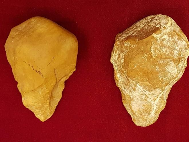 Rìu tay được phát hiện ở xã An Khê, Gia Lai