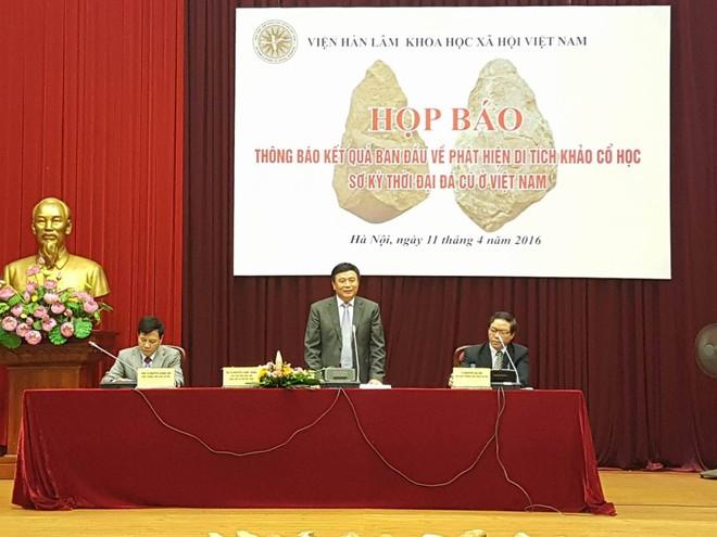 Các nhà khoa học vui mừng công bố phát hiện mới về sự tồn tại và xuất hiện của người Việt cổ