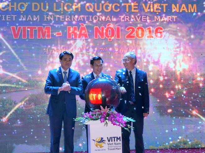 """""""Nhấn nút"""" khởi động Hội chợ Du lịch quốc tế Việt Nam 2016 ảnh 4"""