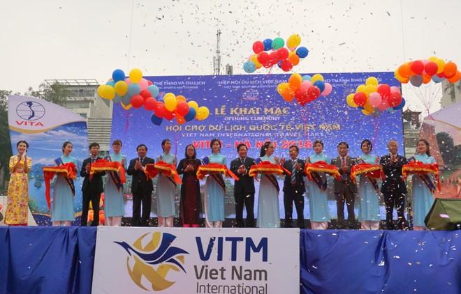 Khai mạc Hội chợ Du lịch quốc tế Việt Nam 2016 ảnh 1