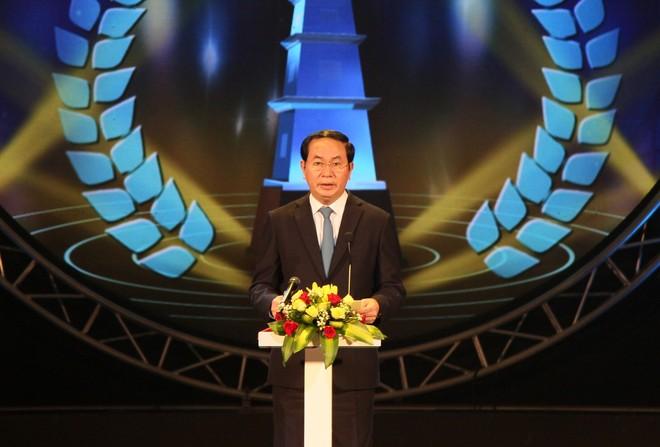 """Chủ tịch nước Trần Đại Quang khẳng định: """"Báo chí đã và đang trở thành kênh thông tin phản ánh tâm tư, nguyện vọng của người dân"""""""