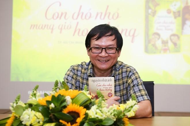 Nhà văn Nguyễn Nhật Ánh tiếp tục khai thác chuyện tình yêu tuổi 17