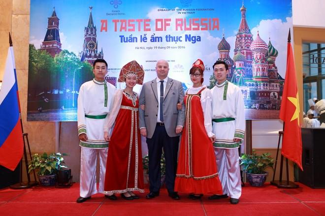 Không gian đậm chất Nga được bố trí tại khách sạn Daewoo