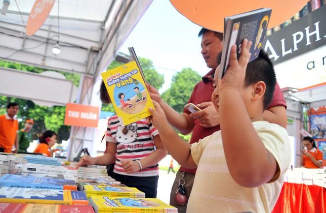 Hội sách Hà Nội chào đón nhiều vị khách quốc tế
