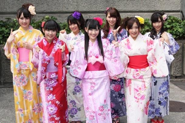 Các bộ Yukata - trang phục truyền thống của Nhật Bản cũng sẽ được giới thiệu trong lễ hội