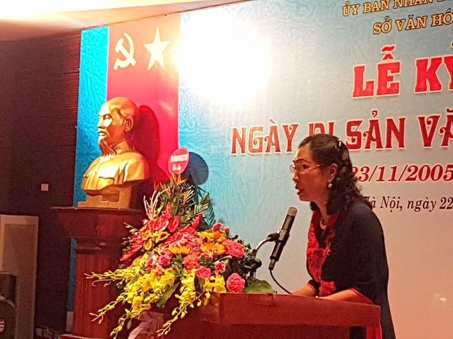 Thứ trưởng Đặng Thị Bích Liên đánh giá cao nỗ lực của Thành phố Hà Nội trong việc bảo tồn các di sản văn hóa