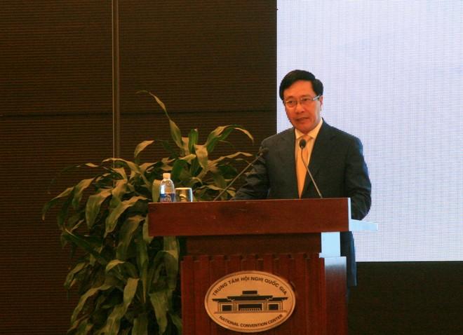 Phó Thủ tướng, Bộ trưởng Bộ Ngoại giao Phạm Bình Minh khẳng định, Việt Nam vinh dự được là nước chủ nhà của APEC 2017