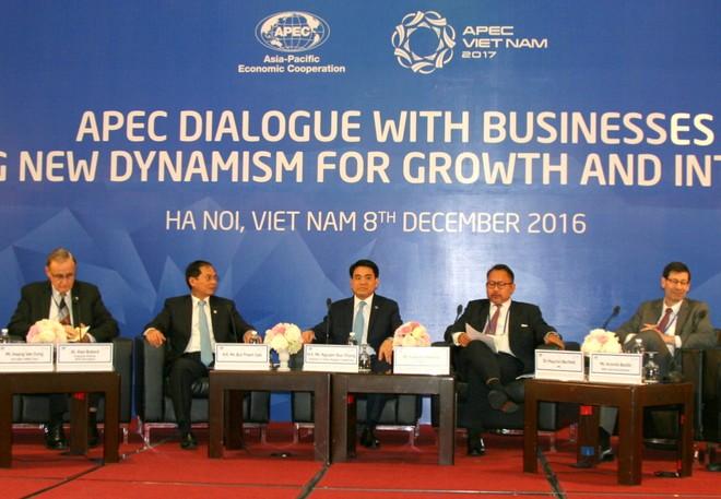 Buổi đối thoại là cơ hội để kết nối và thúc đẩy doanh nghiệp khối APEC đầu tư vào Hà Nội