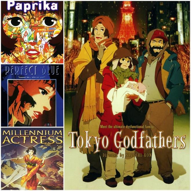 """Bộ phim """"Tokyo Godfathers"""" (Một đêm tuyết phủ)"""